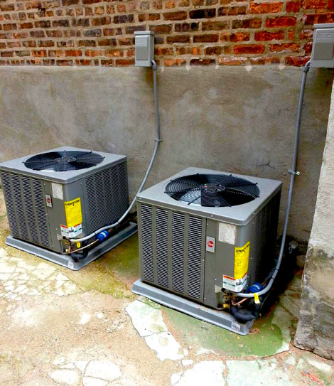 Dual Air conditioners